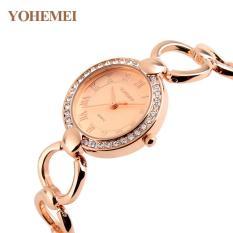 Đồng hồ nữ lắc tay đính đá YOHEMEI CH386 – 9A