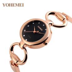 Giá Sốc Đồng hồ nữ lắc tay đính đá YOHEMEI CH391 – 1A
