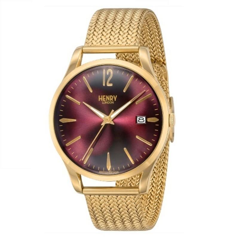 Nơi bán Đồng hồ nữ dây thép Henry London HL39-M-0062 (Vàng) -  Hãng Phân phối chính thức