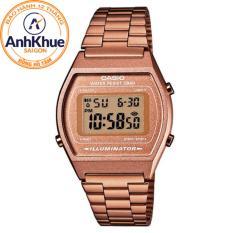 Đồng hồ nữ dây thép không gỉ Casio B640WC-5ADF