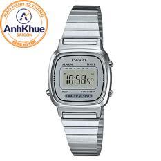 Đồng hồ nữ dây thép không gỉ Casio LA670WA-7DF