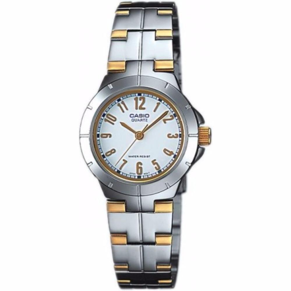 Đồng hồ nữ dây thép không gỉ Casio LTP-1242SG-7ADF