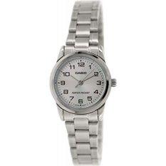 Đồng hồ nữ dây thép không gỉ Casio LTP-V001D-7BUDF (Bạc)