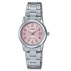Đồng hồ nữ dây thép không gỉ Casio LTP-V002D-4BUDF