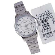 Đồng hồ nữ dây thép không gỉ Casio LTP-V004D-7BUDF (Bạc)