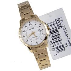 Đồng hồ nữ dây thép không gỉ Casio LTP-V004G-7BUDF