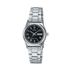 Đồng hồ nữ dây thép không gỉ Casio LTP-V006D-1BUDF