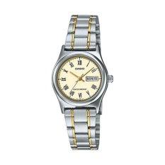 Đồng hồ nữ dây thép không gỉ Casio LTP-V006SG-9BUDF