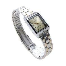 Đồng hồ nữ dây thép không gỉ Casio LTP-v007sg-9eudf