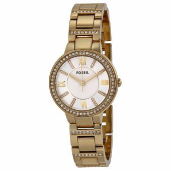 Giá bán Đồng hồ nữ dây thép không gỉ Fossil FO26 (Vàng phối trắng)