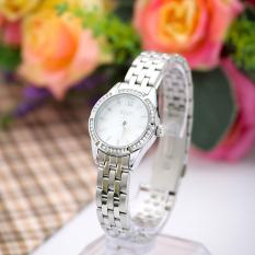 Đồng hồ nữ dây thép không gỉ JULIUS J969 (Trắng bạc)