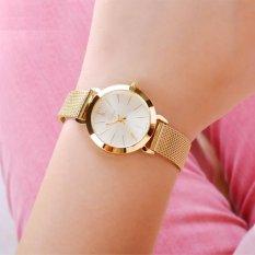 Đồng hồ nữ dây thép không gỉ Julius MJU970 (Vàng)