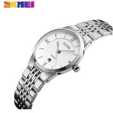 Đánh Giá Đồng hồ nữ dây thép không gỉ siêu mỏng SKMEI 9139 (trắng)