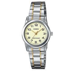 Đồng hồ nữ dây THÉP KHÔNG RỈ Casio LTP-V001SG-9BUDF