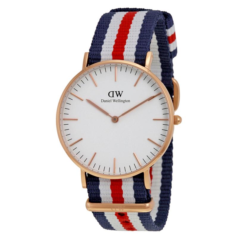 Nơi bán Đồng hồ nữ dây vải Daniel Wellington 0509DW (Trắng sò).