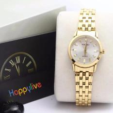 Đồng hồ nữ Halei 003 mặt trắng chống nước