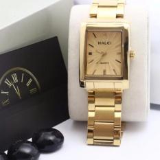 Đồng hồ nữ Halei 465 Mặt vàng chống nước