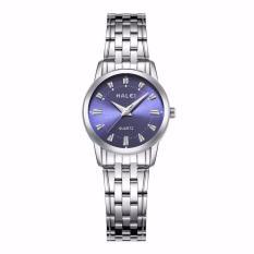 Giá Đồng hồ nữ Halei 502 dây day trắng mặt xanh
