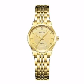 Bảng Giá Đồng hồ nữ Halei 553 mặt vàng chống nước