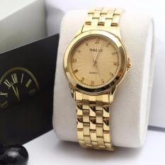 Đồng hồ nữ Halei 553 V6 mặt vàng chống nước