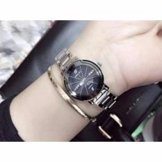 Đồng hồ nữ Halei 590 mặt màu đen cực xinh