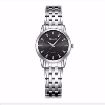Giá Niêm Yết Đồng hồ nữ HALEI dây thép vạch giờ thời trang G02-13