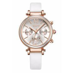 Đồng hồ nữ JULIUS Hàn Quốc 3 Máy JU1212 Trắng