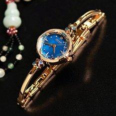 Đồng hồ nữ JULIUS Hàn Quốc JU1084 Đồng mặt xanh