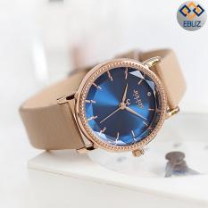 Đồng hồ nữ JULIUS JA1012 dây da nâu cafe