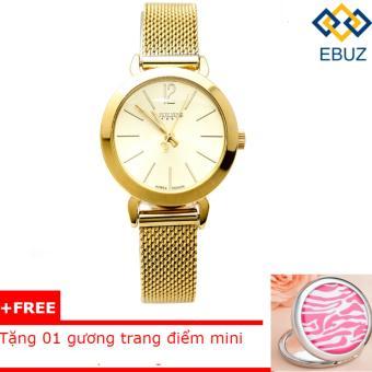 Đồng hồ nữ JULIUS JA732 dây thép (vàng) + tặng 1 gương trang điểmmini - 8212692 , JU025OTAA2SQKWVNAMZ-4810582 , 224_JU025OTAA2SQKWVNAMZ-4810582 , 689000 , Dong-ho-nu-JULIUS-JA732-day-thep-vang-tang-1-guong-trang-diemmini-224_JU025OTAA2SQKWVNAMZ-4810582 , lazada.vn , Đồng hồ nữ JULIUS JA732 dây thép (vàng) + tặng 1 gương