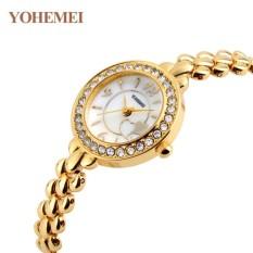 Đồng hồ nữ lắc tay đính đá YOHEMEI CH367 – D7A
