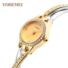 Đồng hồ nữ lắc tay đính đá YOHEMEI CH369 – D9A