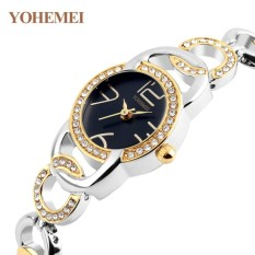 Đồng hồ nữ lắc tay đính đá YOHEMEI CH370 – D1A