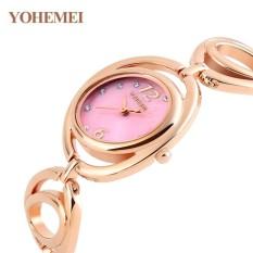 Đồng hồ nữ lắc tay đính đá YOHEMEI CH373 – D10A