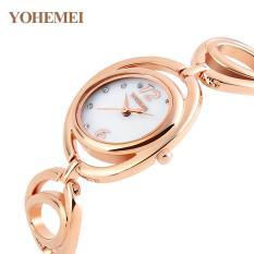 Tư vấn mua Đồng hồ nữ lắc tay đính đá YOHEMEI CH373 – D7A