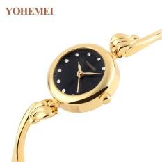 Địa Chỉ Bán Đồng hồ nữ lắc tay đính đá YOHEMEI CH375 – 1A  Tini shop