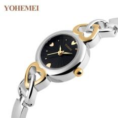 Đánh Giá Đồng hồ nữ lắc tay đính đá YOHEMEI CH376 – 1A  Tini shop