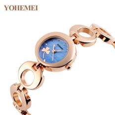 Đồng hồ nữ lắc tay đính đá YOHEMEI CH377 – 2A