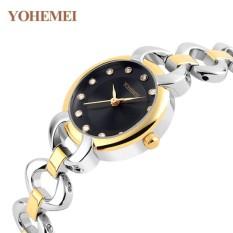 Địa Chỉ Bán Đồng hồ nữ lắc tay đính đá YOHEMEI CH378 – 1A  Tini shop