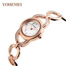 Giá Sốc Đồng hồ nữ lắc tay đính đá YOHEMEI CH379 – 7A  Tini shop