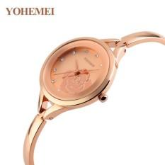 Đồng hồ nữ lắc tay đính đá YOHEMEI CH380 – 9A