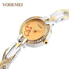 Đồng hồ nữ lắc tay đính đá YOHEMEI CH382 – 9A