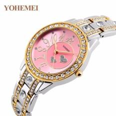 Nơi Bán Đồng hồ nữ lắc tay đính đá YOHEMEI CH383 – 10A  Tini shop