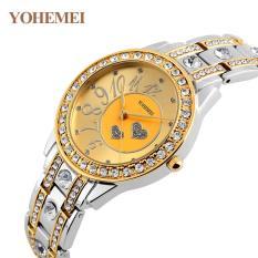 Đồng hồ nữ lắc tay đính đá YOHEMEI CH383 – 9A
