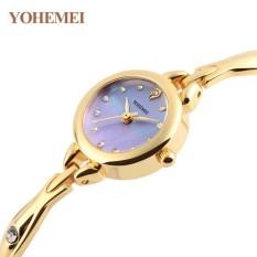 Địa Chỉ Bán Đồng hồ nữ lắc tay đính đá YOHEMEI CH384 – 8A  Tini shop