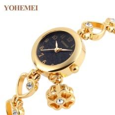 Đánh Giá Đồng hồ nữ lắc tay đính đá YOHEMEI CH385 – 1A  Tini shop