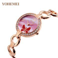 Nơi nào bán Đồng hồ nữ lắc tay đính đá YOHEMEI CH388 – 10A