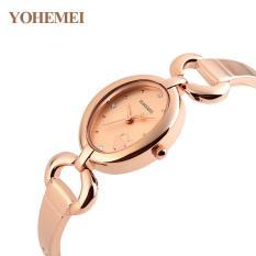 Báo Giá Đồng hồ nữ lắc tay đính đá YOHEMEI CH390 – 9A