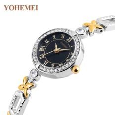 Đồng hồ nữ lắc tay đính đá YOHEMEI CH393 – 1A