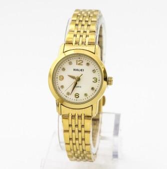 Giá bán Đồng hồ nữ mạ vàng cao cấp Halei chống nước SMHL5727